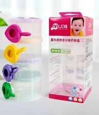Milk and Snacks Food Storage Containers or Weaning Pots for Baby and Toddlers