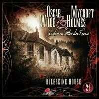BOLESKINE HOUSE - OSCAR WILDE & MYCROFT HOLMES-FOLGE 21   CD NEW