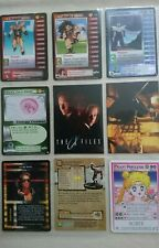 9 - Trading Cards X files - Terminator Topps - Dracon ball Z Various Vgc