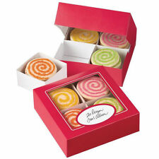 Red Christmas Valentine Cookie Sampler Box 3ct from Wilton 1894 - NEW
