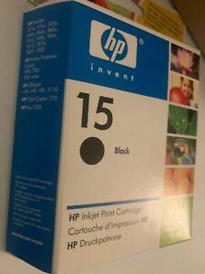 HP Patrone Tinte 15 C6615NE schwarz black Deskjet 810c 816c 825c 840c 843c 916c