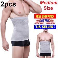 2X MENS SLIMMING BODY SLIM N LIFT SHAPER BELLY BUSTER UNDERWEAR VEST COMPRESSION