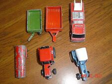 Vintage Variety of Die-Cast Toys(6)
