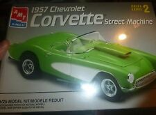 AMT 1957 CHEVY CORVETTE STREET MACHINE FS Model Car Mountain KIT