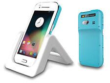 Scanner PALMARE DI CODICI A BARRE 2d con Wi-Fi Bluetooth 3g GPS Android 4.1 ip65 con base