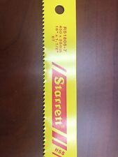 """Starrett RS1806-7, 18"""" x 1-1/2"""" x 6TPI Redstripe Solid, HSS Power Hacksaw Blades"""