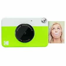 Kodak PRINTOMATIC Digital Instant Print Camera (Neon Green)