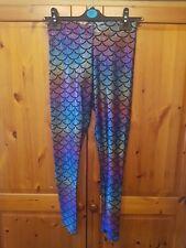 Blackmilk Rainbow Mermaid Leggings Museum Medium