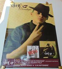 VICO C DESAHOGO ORIGINAL POSTER EMI MUSIC COLOMBIA 2005
