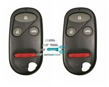 2 Replacement For 2000-2009 S2000 Honda CR-V Key Fob Remote Alarm Shell Case