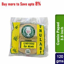 Buy Cumin Papad Thulasi 120g