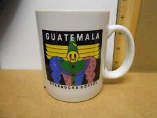 Starbucks Guatemala Coffee Mug Cup Coffee Tea Clown Mime Wizard Circus 1990s