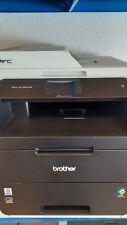 Brother MFC-9142CDN Farblaserdrucker Kopierer, Top Zustand, Generalüberholt