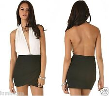 $39  BNWT Black Wrap Skirt 8 S *SWEETAEACIA* Elasticised Pleated Drape Chiffon