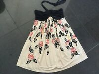 Temperley London New & Gen. Ladies Small UK Size 8 FLoral Print Sleeveless Top