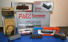 Fleischmann FMZ-Zentrale 6800, Handbuch 9908, Diesellok 64230, Trafo 6810, OVP