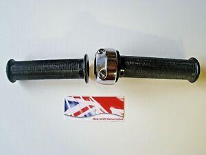 TWISTGRIP throttle grip set. Suits AMC AJS BSA Bantam LE Classic British project
