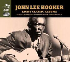 JOHN LEE HOOKER - 8 CLASSIC ALBUMS 4 CD NEUF