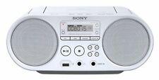 Sony ZSP-S50W Boombox CD/USB Radiorekorder (AM/FM) MP3 LCD-Display UKW/MW-Tuner
