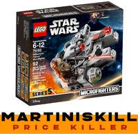 LEGO 75193 Star Wars Micro Millennium Falcon Faucon Series 5 Microfighter