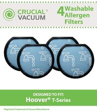 4 Hoover Windtunnel T-Series Washable Pre Filters, Part # 303173001