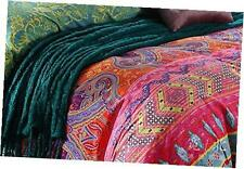 luxury 4-piece bohemian exotic style bedding duvet covers set queen size