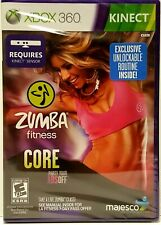 NEW FACTORY SEALED Zumba Fitness Core KINECT with Exclusive Unlockable Routine