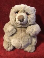 Applause Dakin Lou Rankin tan brown Jasper bear 8 inch stuffed plush animal