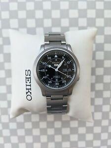 Seiko 5 Sports Men's Black Watch - SNK809 Read Description!