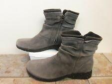 Teva Capistrano Gray Mid Calf Suede Leather Boots 9.5 M New