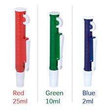 Lab Fast Release Pipette Pump Pipettor Transfer Pipette Pasteur Pipet 21025ml