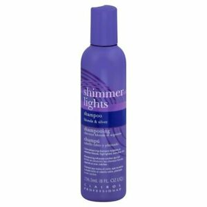 Clairol Professional Shimmer Lights Shampoo, Blonde & Silver 8 oz