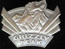 Disney California Adventure Grand Opening 2001 Grizzly Peak Pewter pin DCA DLR