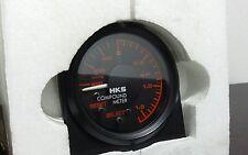 HKS meter BOOST compound gauge 60mm JDM turbo 240sx s13 s14 skyline r32 RB26dett