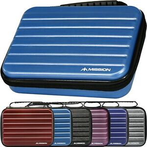 Mission Abs 4 Darts Case Metallic Extra Large Box Holds 4 Sets Fully Assembled