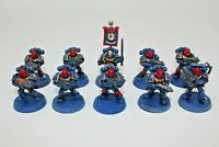 Warhammer Space Marines Tatical Squad Well Painted - JYS80