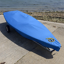 Laser Dinghy Sail Boat Deck Cover - Tailored - Blue (125B)