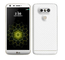 Textured Skin Sticker for LG G5 H850 Carbon Matt Wood Brushed Metal Leather