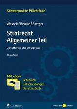 Strafrecht Allgemeiner Teil von Helmut Satzger und Johannes Wessels (2017, Set mit diversen Artikeln)