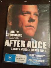 AFTER ALICE Kieffer Sutherland New & Sealed DVD R4