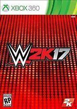 Xbox 360 WWE W2K17 Wrestling 2017 2k17 complete MINT BRAND NEW SEALED