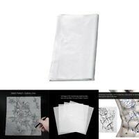Lots 100 Pcs Tatouage Papier Traçage Tattoo Stencil Dessin Conception