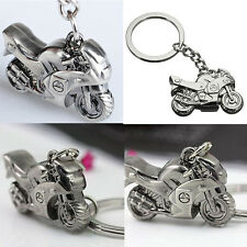 Mens Metal Motorcycle Shape Car Key Ring Keychain Pendant Gift Sports Keyring