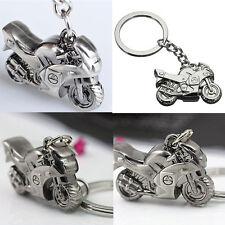 Herren Metall Motorrad Form Auto Key Ring Schlüsselanhänger Sports Schlüsselbund