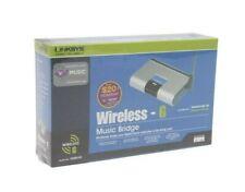Linksys WMB54G 2.4ghz 802.11g or b Wireless Music Bridge