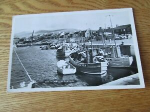 Postcard of the Harbour, Girvan (Posted 1964 RP)
