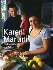 Karen Martini: Cooking at Home by Karen Martini Hardcover Book (English)