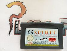 NINTENDO GBA GAME BOY ADVANCE SPIRIT STALLIN OF THE CIMARRON CARTUCHO PAL UKV