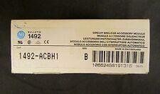 Allen Bradley Series B Circuit Breaker Accessory Auxiliary 6 Amp 1492 Acbh1