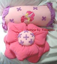 Retired Disney'S Tinker Bell Neverland Toss Pillows Set of 2 Tinker Bell Pillows